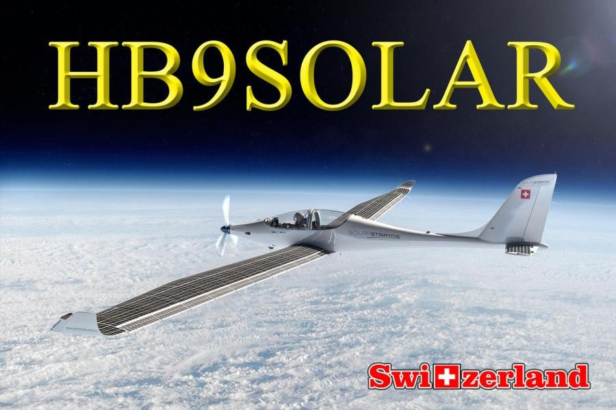 HB90SOLAR Solar Stratos Mission, Clin dAiles Swiss Air Force Museum