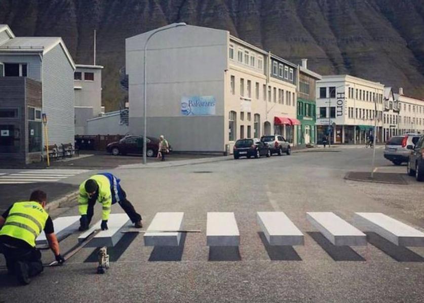 3D Zebra Iceland