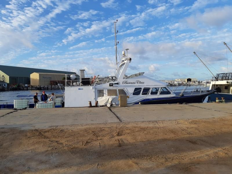 VK5MAV/6 On the way to Houtman Abrolhos Island 14 April 2019 Image 1