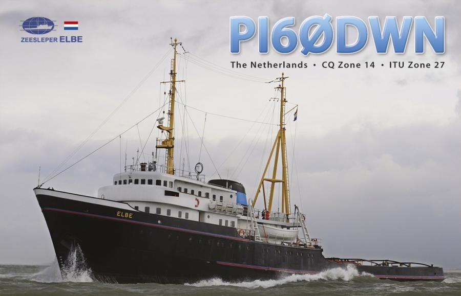 PI60DWN Tugboat Elbe, Maasluis, Oostvoorne, Netherlands