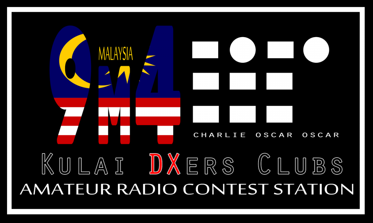 9M4COO World Amateur Radio Day Malaysia Logo