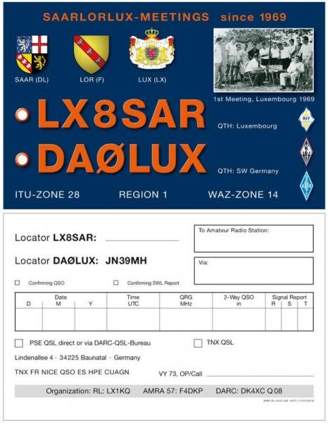 LX8SAR Luxembourg