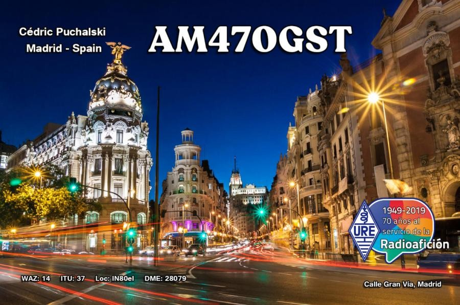 AM470GST Madrid, Spain