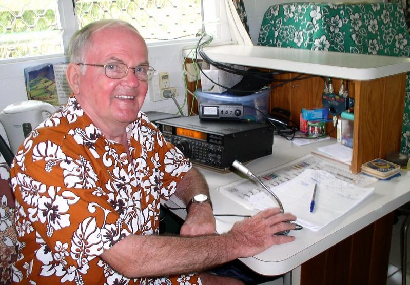E51JD Jim Ditchburn, Rarotonga Island, Cook Islands. DX News.
