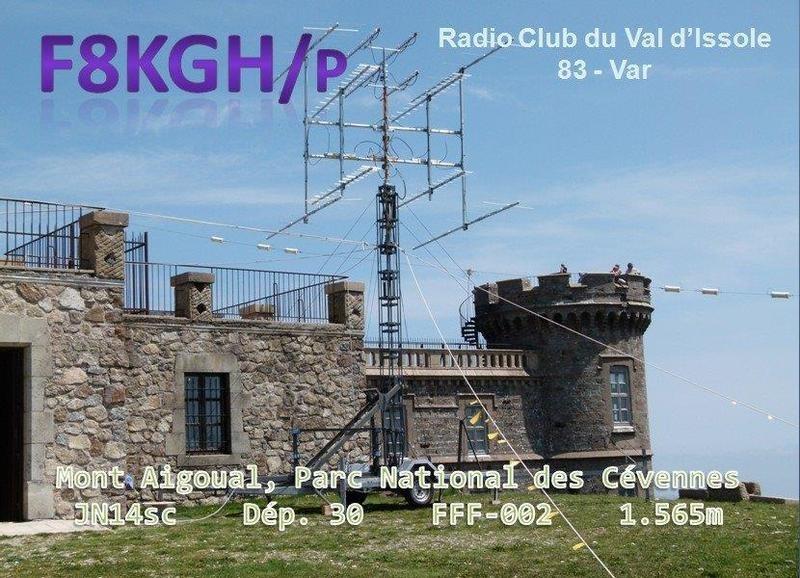 TM1D Radio Club Du Val Dissole, La Roquebrussanne, France