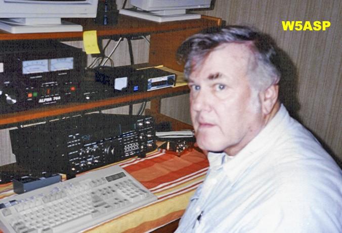 W5ASP Joseph Staples III, Houston, Texas