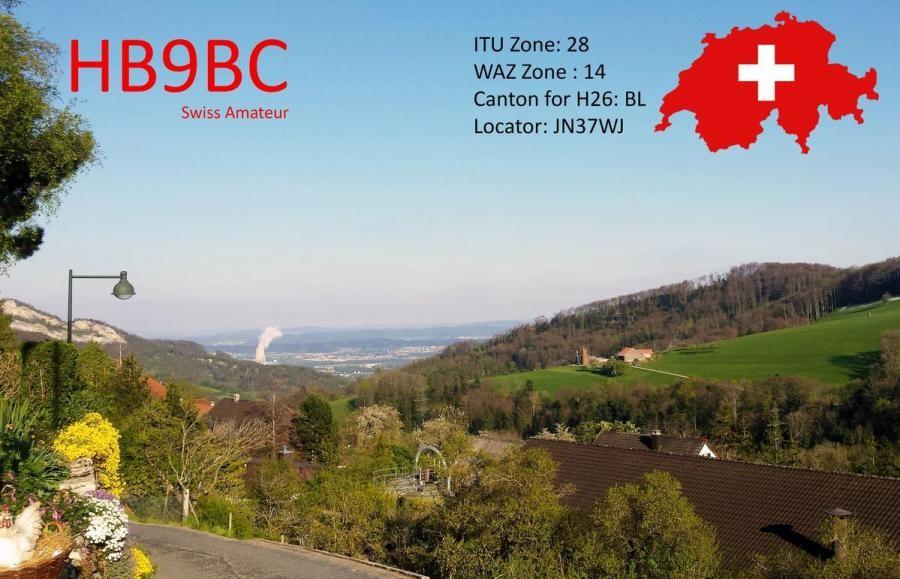 HB9BC Funk Club Hauenstein, Laufelfingen, Switzerland