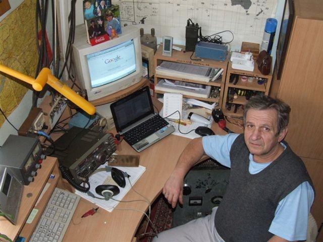 HG6O Gabor Dekany, Szanda, Szandavaralja, Hungary. Radio Room Shack