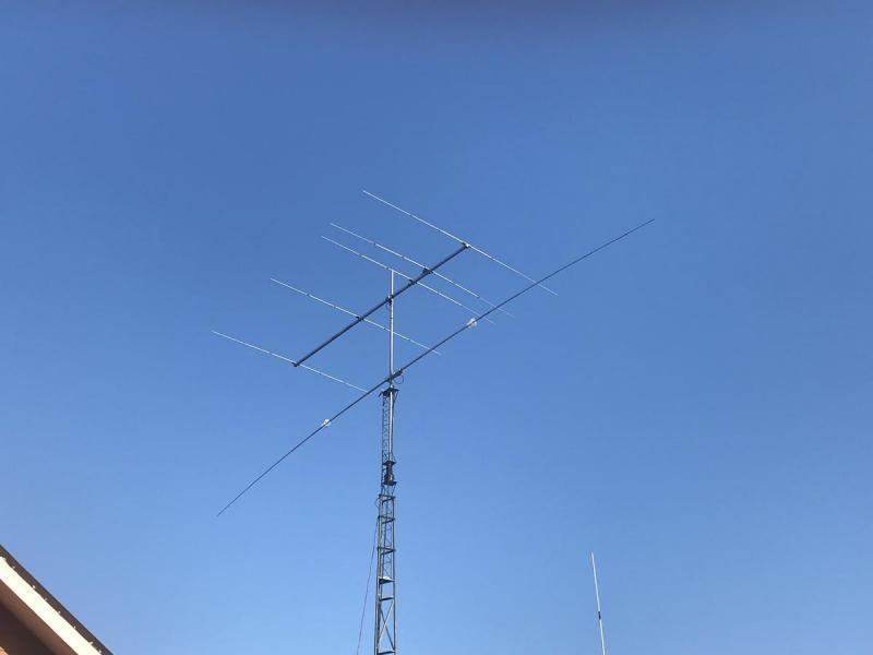 CA2BMW Cristian Vasquez Reiquelme, Quilpue, Chile. Antennas
