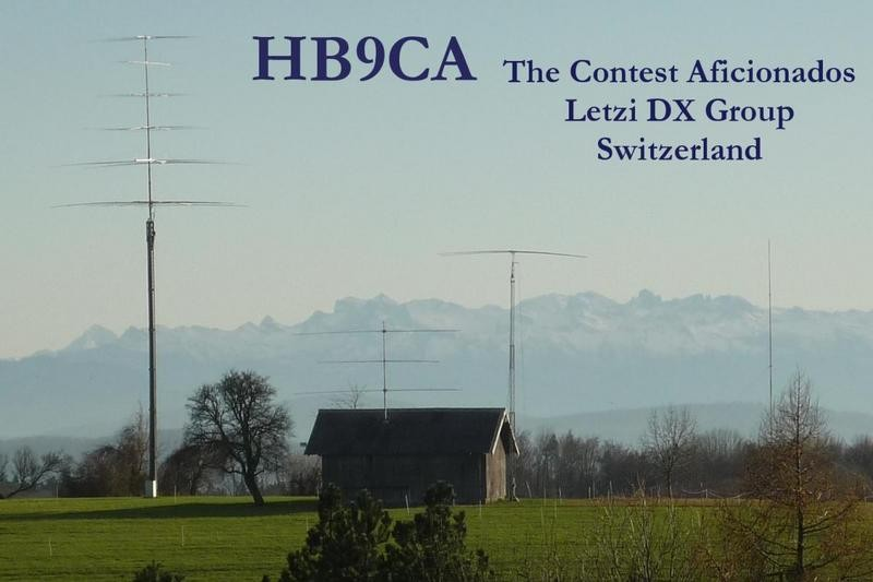 HB7X DX Group Letze Contest Aficionados, Switzerland
