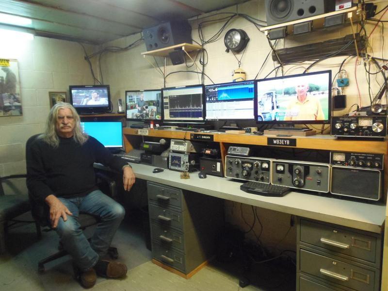 WB3EYB John Tim Shingara, Harrisburg, Pennsylvania, USA