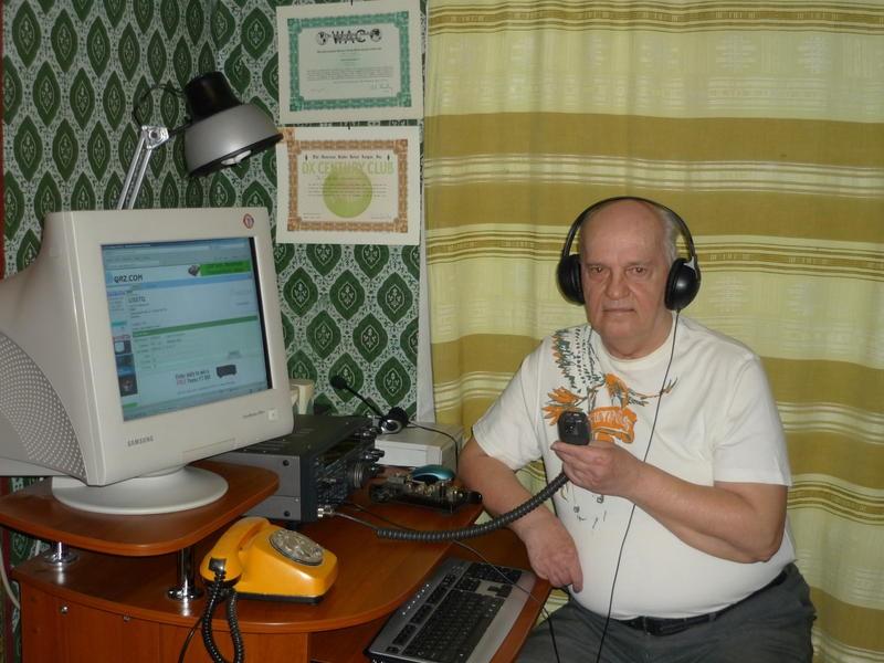 UX5TQ Yuri Naidyonov, Dnepropetrovsk, Ukraine
