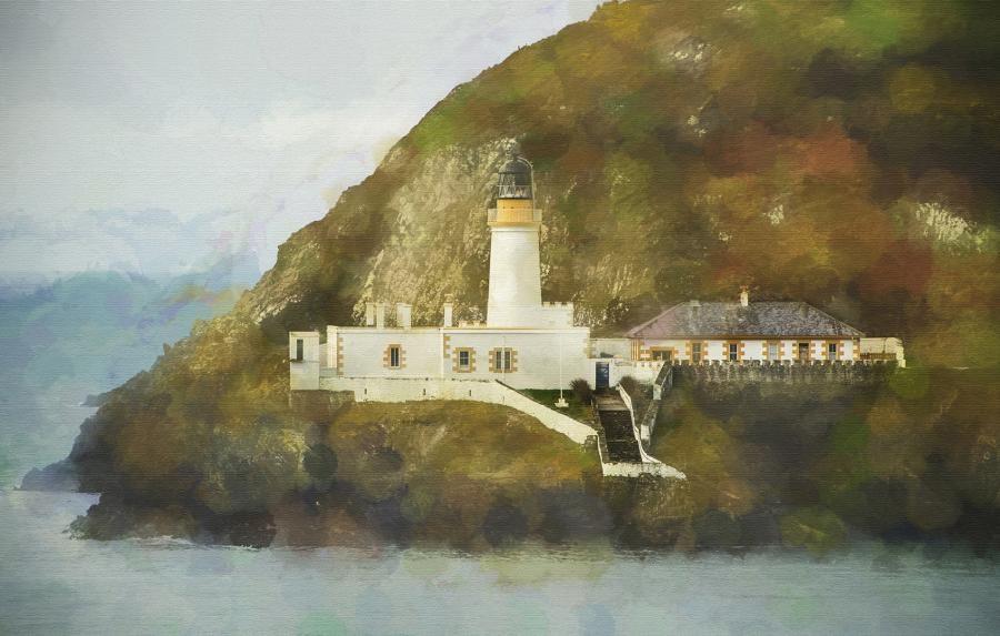 GT3PYE/P Douglas Head Lighthouse, Isle of Man.
