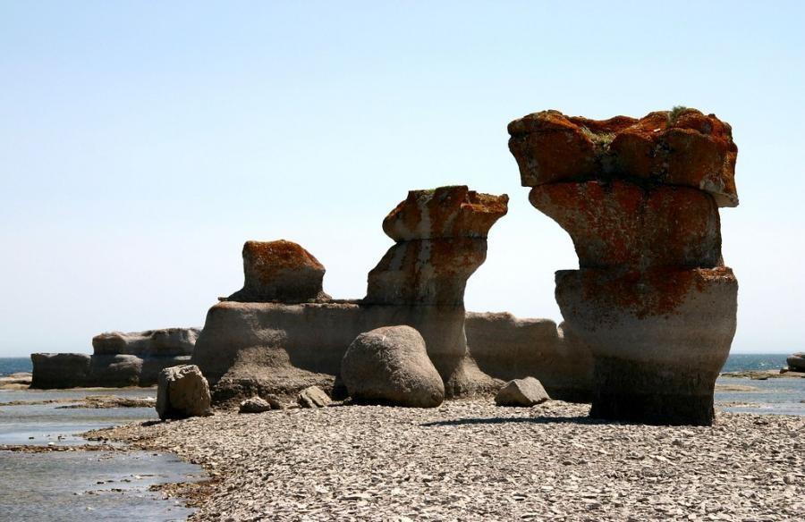 VA7XW/VE2 Ile Quary, Mingan Archipelago, Canada