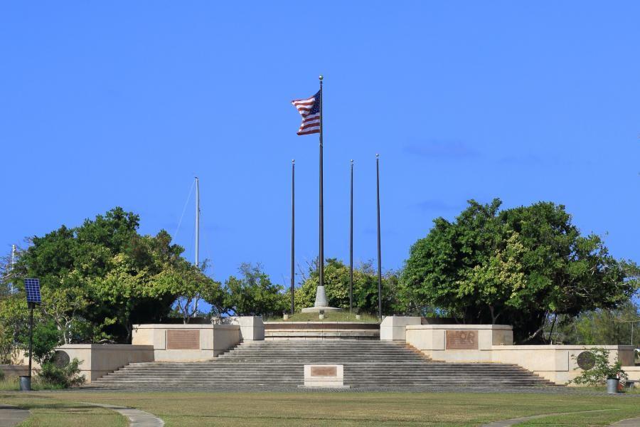 KH0/JH3QFL American Memorial Park, Saipan Island