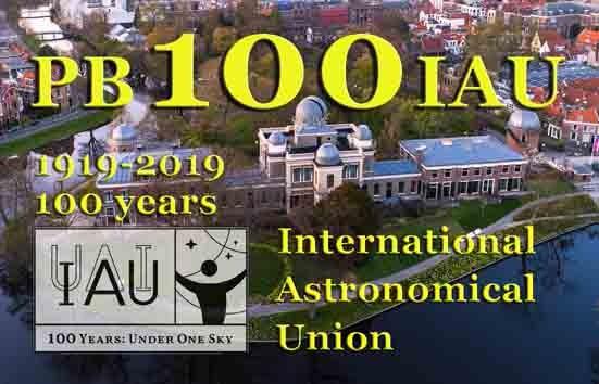 PB100IAU Leiden Astronomical Observatory, Leiden, Netherlands.