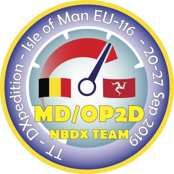 MD/OP2D Isle of Man. Logo
