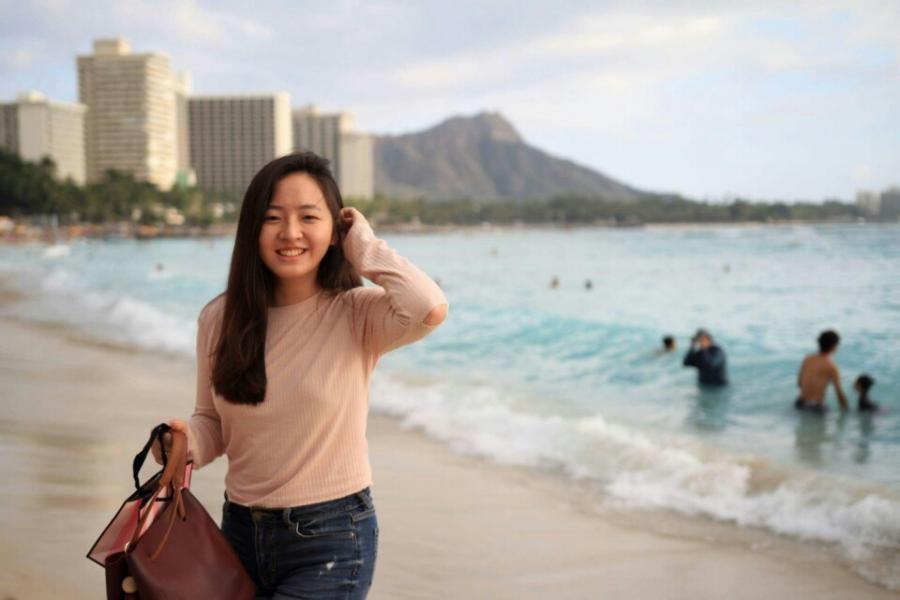 KH6HQ Ji Won Lee, Honolulu, Oahu Island, Hawaiian Islands