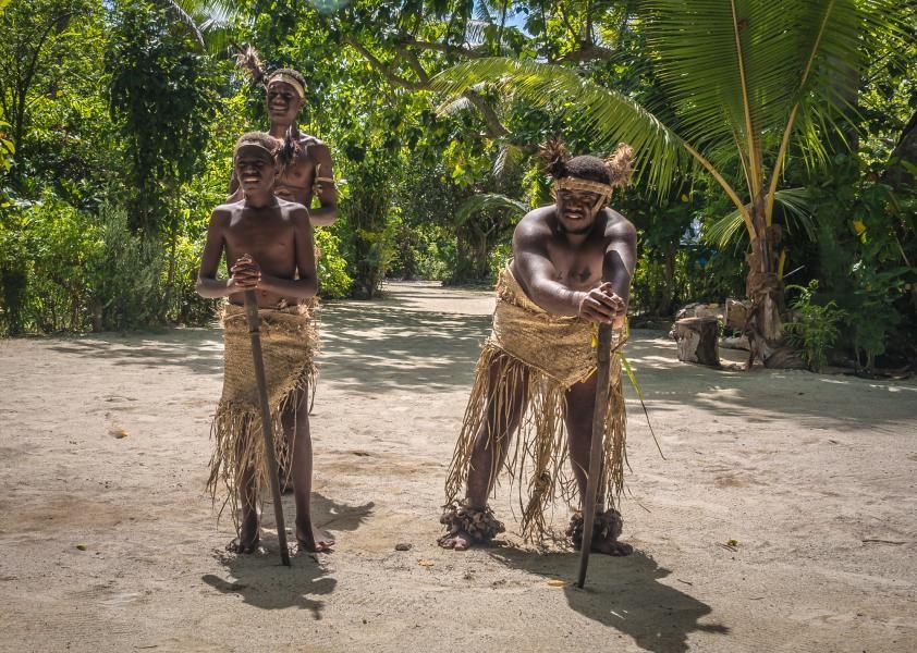 YJ0BCP Taka Custom Village, Efate Island, Vanuatu
