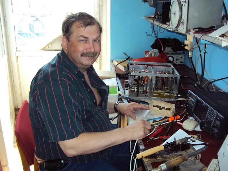 R4RT Alexander Novikov, Kazan, Russia. Radio Room Shack.