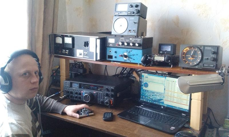RT3LA Mikhail Bogomoltsev, Yartsevo, Russia. Radio Room Shack