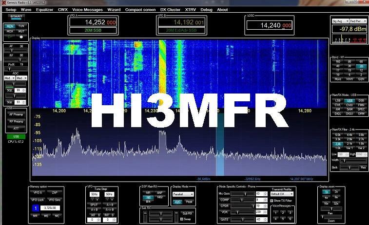 HI3MFR Michel Sandino Frias Rodriguez, Moca, Espaillat, Dominican Republic
