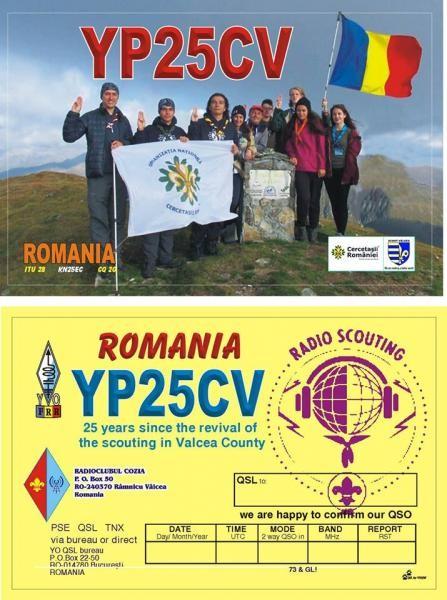YP25CV Association Cozia Radioclub, Ramnicu Valcea, Romania