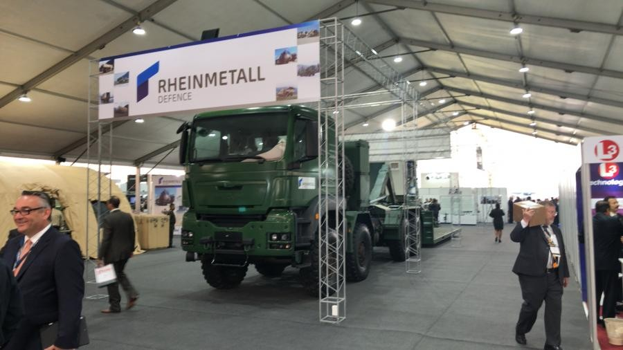 SITDEF Exhibition, San Borja, Peru. Rheinmetall Defence