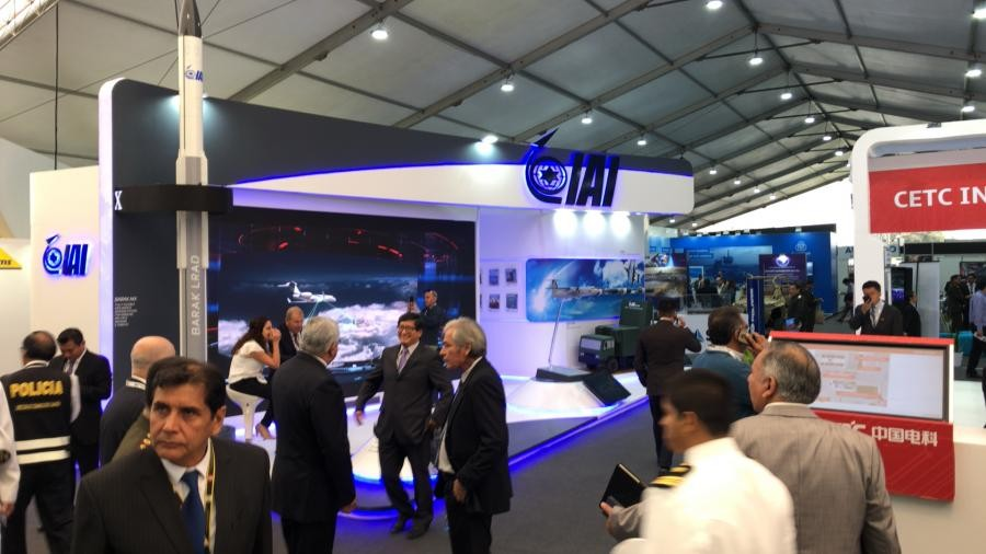 SITDEF Exhibition San Borja, Peru Israel Aerospace Industries