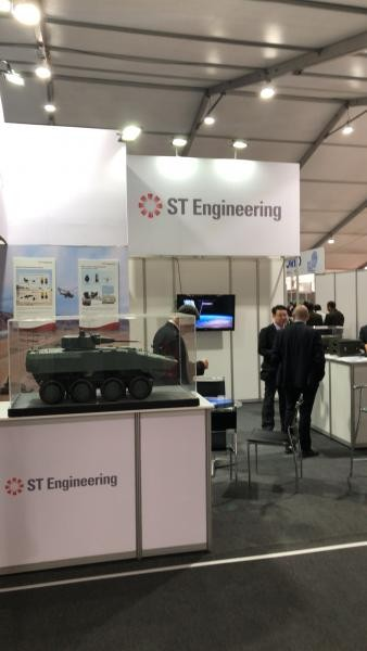 SITDEF Exhibition San Borja, Peru ST Engineering