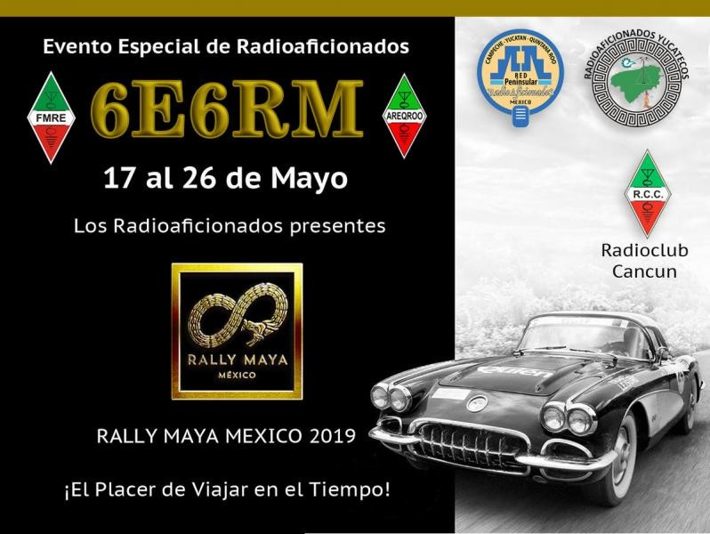 6E6RM Rally Maya, Playa del Carmen, Mexico