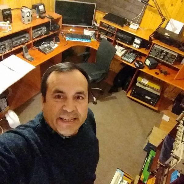 CE6TK Mario Munoz Ramos, Traiguen, Araucania, Chile