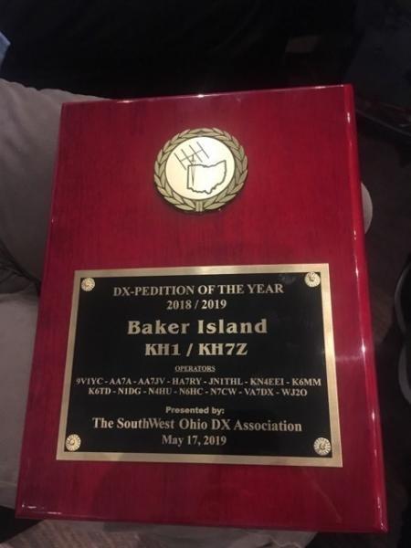 KH1/KH7Z DX Pedition of 2019 Baker Island Image 3