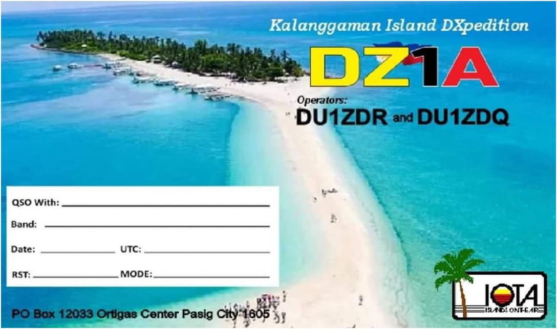 DZ1A Kalanggaman Island