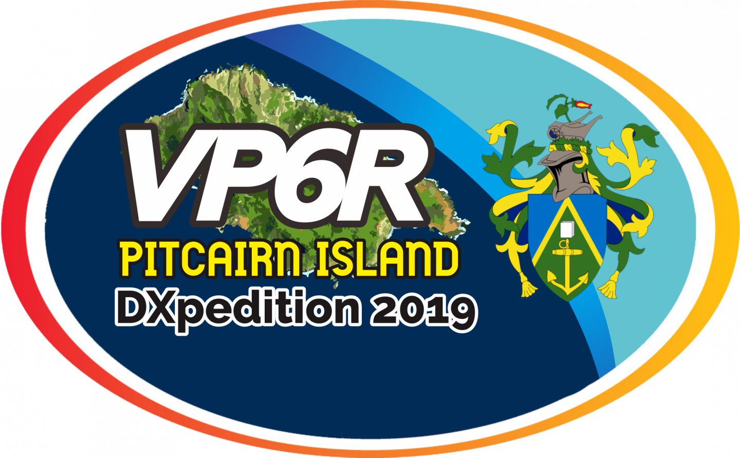 VP6R Pitcairn Island DX Pedition Logo