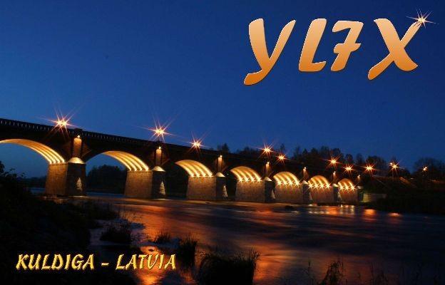 YL7X Arvis Mikals, Kuldiga, Latvia