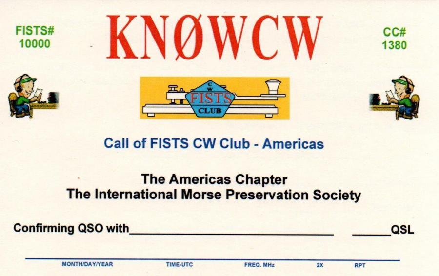 KN0WCW/2 FISTS CW Club, Leonardo, New Jersey, USA