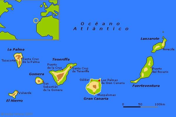 EA8DIG Los Llanos de Aridane, La Palma Island, Canary Islands