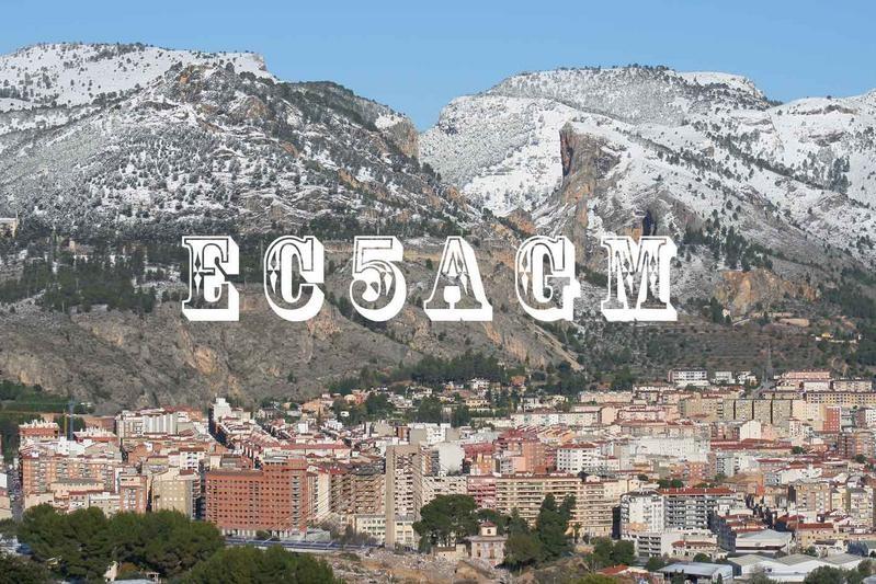 EC5AGM Juan Ribera, Alcoi, Alicante, Spain