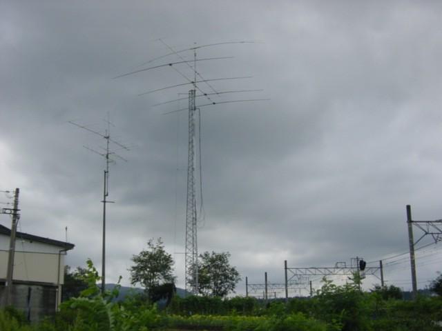 JH0INP Hiroshi Miyashita, Myoko, Niigata, Japan Antennas