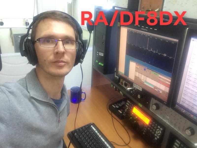 RA/DF8DX Bodo Fritsche, Novosibirsk, Russia