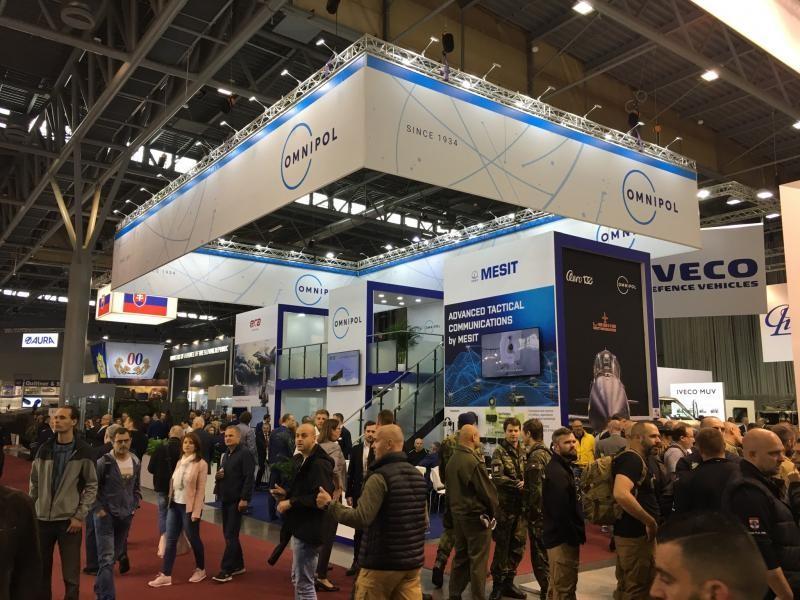 IDET International Defence and Security Technologies Fair, BVV Trade Fairs Brno, Velethry Brno. Omnipol Dicom Mesit
