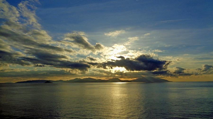 IN3EQD/P Elba Island Sunset Punta Falcone