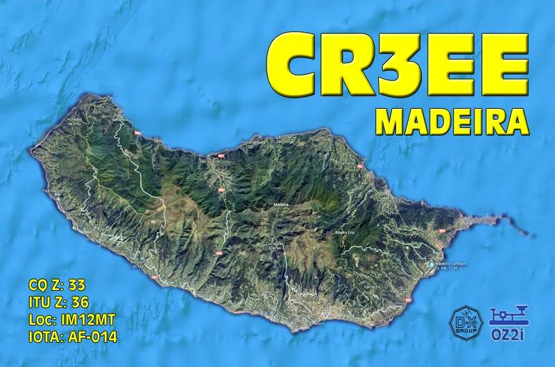 CR3EE Achada Felpa, Madeira Island