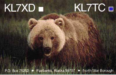 KL7TC William Hunstein, Fairbanks, Alaska