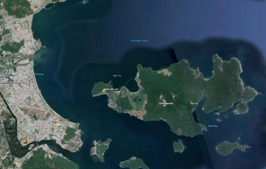 XV9LR Hon Tre Island, Vietnam