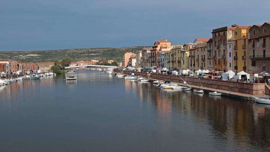 Bosa, Sardinia Island. IS0/OM2TW