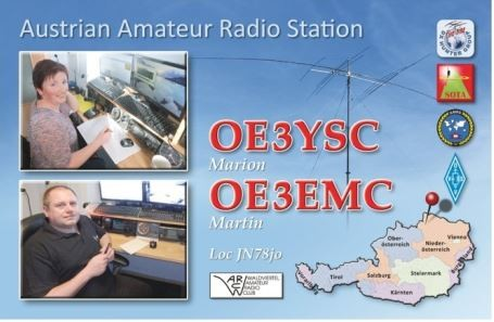 OE88YL Marion Stouy, Bad Grosserholz, Austria