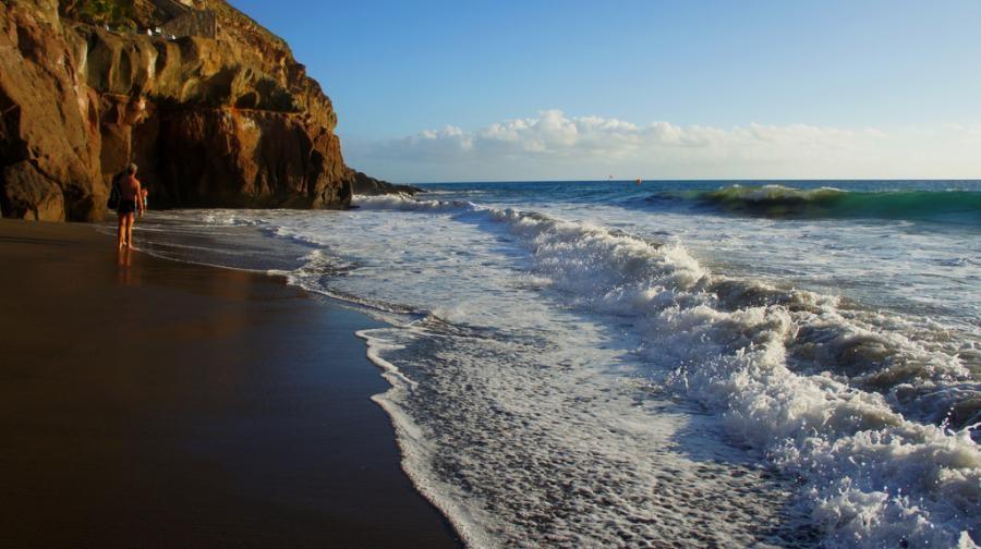 EA8/UA4FER Beach Taurito Gran Canaria Island Canary Islands