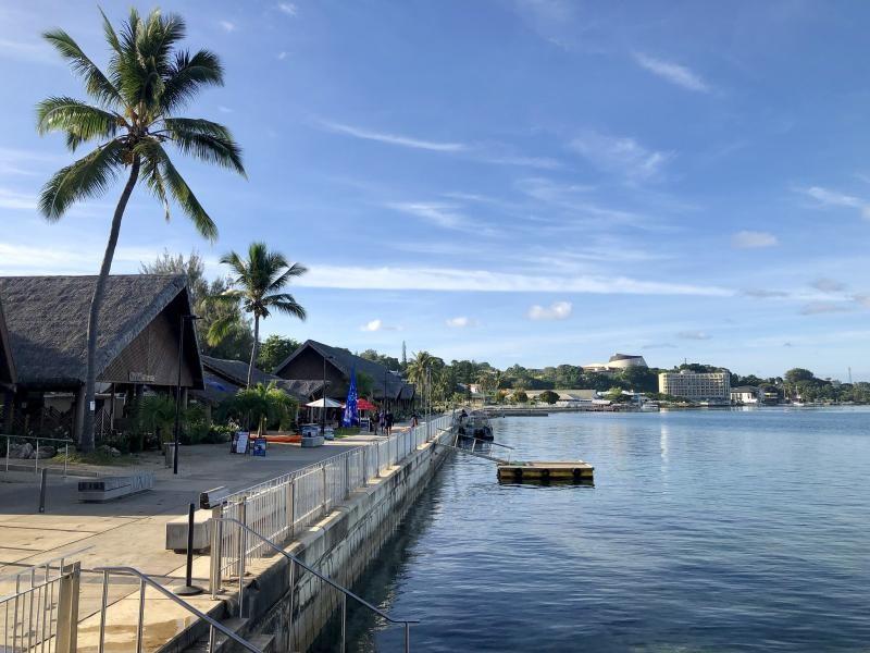 Port Vila, Efate Island, Vanuatu YJ8CW